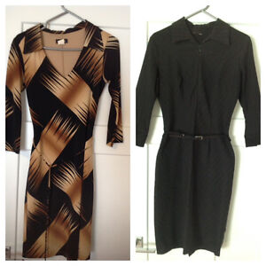 Two work/ professional dresses from Le Chateau