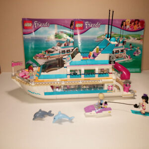 LEGO – FRIENDS - (41015) DOLPHIN CRUISER  - 100% COMPLETE