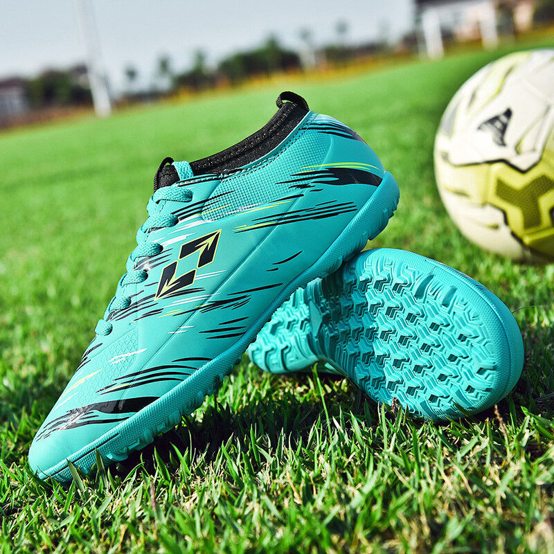 Boys and Girls Children Soccer Shoes Indoor Football Trainer