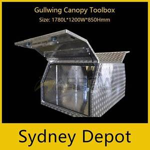 Aluninium Gullwing Canopy Toolbox 1780L*1200W*850Hmm Prestons Liverpool Area Preview