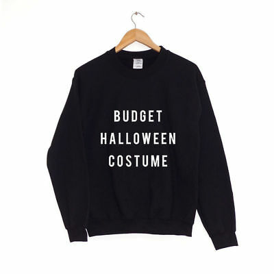 Budget Halloween Costume | SWEATER SWEATSHIRT JUMPER - Budget Halloween Costume