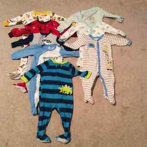 Boys 12 month sleepers - sold as a set