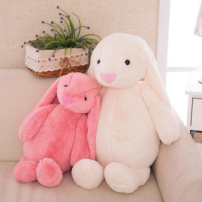 New Long Ears Bunny Plush Toy Rabbit Soft Animal Stuffed Doll Kids Birthday - Long Ears