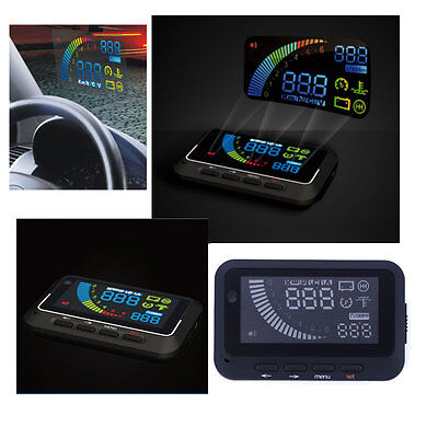 Car Safe Driving Overspeed Warning Universal OBDII HUD Head Up Display System UK