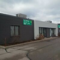 Drive up Office with Industrial Bay Near Conestoga Mall