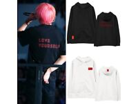 BTS Bangtanboys Concert World Tour LOVE YOURSELF 結 Answer Hooded Sweater