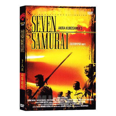 The Seven Samurai (1954) DVD - Akira Kurosawa (*New *Sealed *All Region)