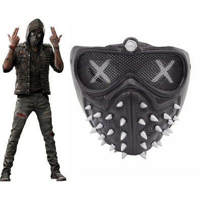 Watch Dogs 2 Wrench Cosplay Costumes Halloween Mask Face Christmas Party Props