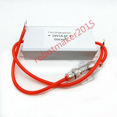 16v 16.6f 2.7v 100f Super Farad Car Capacitor Module Kit Low Temperature Starter