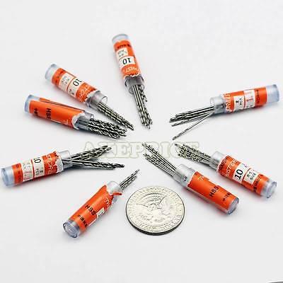 10Pcs Micro HSS Twist Drilling Bit Straight ...