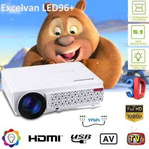5000Lumens HD Projector LED Projector 3D Home Cinema HDMI/USB/SD Doveton Casey Area Preview