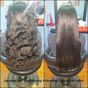 JAPANESE HAIR STRAIGHTENING KERATIN TREATMENT OLAPLEX TREATMENT Peterborough Peterborough Area image 4