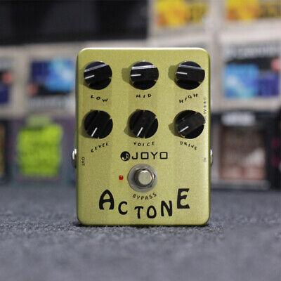 JOYO Vox AC30 Tone Effects Pedals Beatles U2 Classic Class Amp Sounds UK F/S