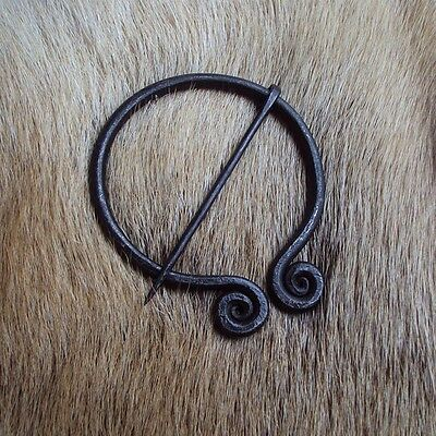 Spiralled Fibula / Brooch - Perfect For LARP Or Re-Enactment