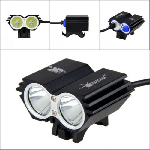 Bike Night Cycling Front Light MTB Bycicle Headlamp USB Rechargeable Lamp 200M