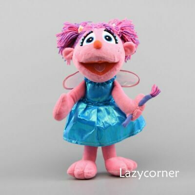 "14"" BIG Sesame Place Abby Cadabby Fairy Plush Toy Stuffed Doll Sesame Street for sale  China"