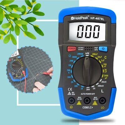 Rlc Meter Inductance Capacitance Resistance Multimeter Inductor Tester Meter