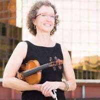 Violin lessons with Jennifer Bustin MMUS