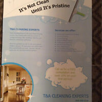 CLEANING DOES'NT HAVE TO COST A FORTUNE