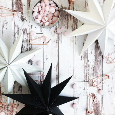Xmas String Hanging Star Party Decoration Paper Christmas Tree Ornament](Christmas Paper Decorations)