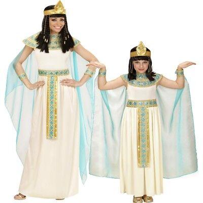 Cleopatra Pharaonin Agyptische Gottheit Partner Kostüm - Damen Kinder Mädchen (Kinder Cleopatra Kostüm)