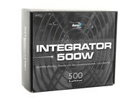 Aerocool Integrator 500W 12cm Power Supply Unit - Black