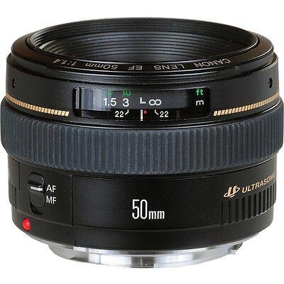 Canon EF 50mm f/1.4 USM Objektiv F1.4 - NEU