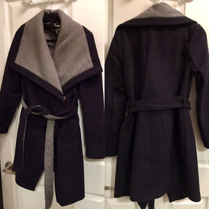 BCBG Felt Coat / Jacket (Women's xsmall)
