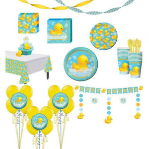 Rubber Ducky Themed Baby Shower Decorations