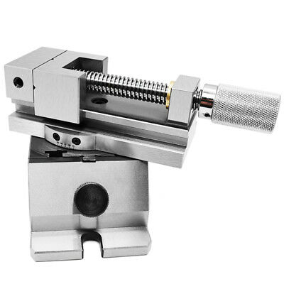 2 Inch Universal Precision Vise Angle Adjustable Flat Clamp Grinder Manual Vise