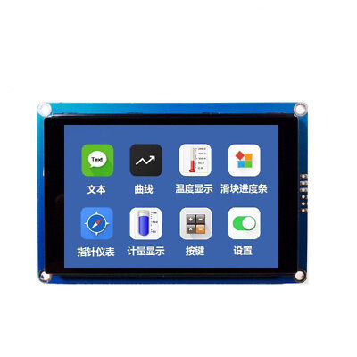 New 3.5 Capacitive Touch Screen Hmi I2c Lcd Display Module 480x320 For Arduino