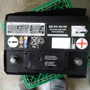 battery   new for VW