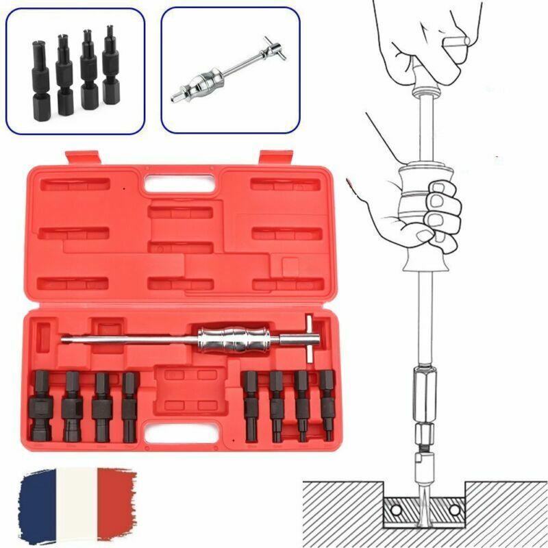 16 Pcs Extracteur de moyeux à inertie extracteur de roulement et moyeu Nouveau