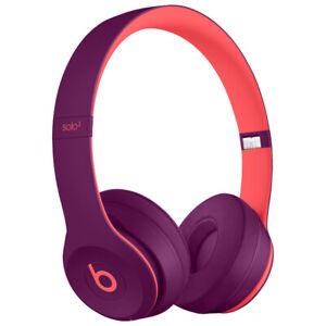 BEATS SOLO3 ON-EAR WIRELESSS HEADPHONES POP MAGENTA BOXED $199