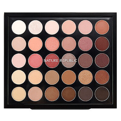 Nature Republic Pro Touch Color Master Shadow Palette 30 Colors Eye Makeup Limit