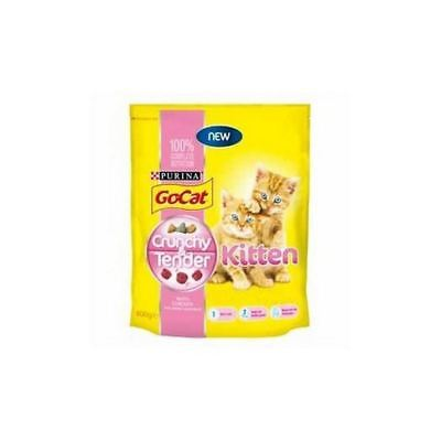 Go Cat Go-Cat Crunchy and Tender Kitten  Cat Food (800g)