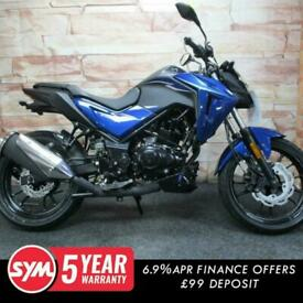 Sym NHX 125cc Street Fighter Naked Sports Adventure Motorcycle bike For Sale