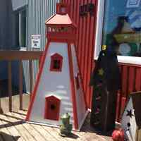 Lighthouse red white outdoor