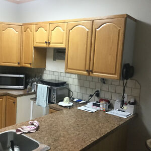 Approx 8 x 8 Kitchen Cabinets