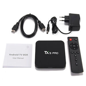 New TX5 Pro 2GB/16GB Android Boxes Incl. MX3 Air Mouse