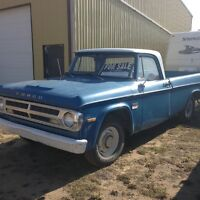 1970 FARGO MINT COND. NO RUST. RUNS AND DRIVES