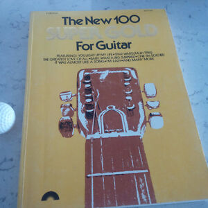 The New 100 Super Gold for Guitar, 1978 Kitchener / Waterloo Kitchener Area image 1