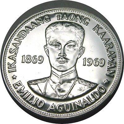 Independence Commemorative UNC Emilio Aguinaldo Philippines P176a 5 Piso