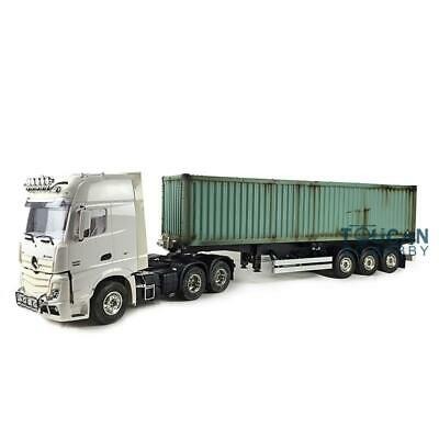 Hercules RC 1/14 Highline Benz 6*4 Tractor Truck Container Semi-Trailer Painted, used for sale  China