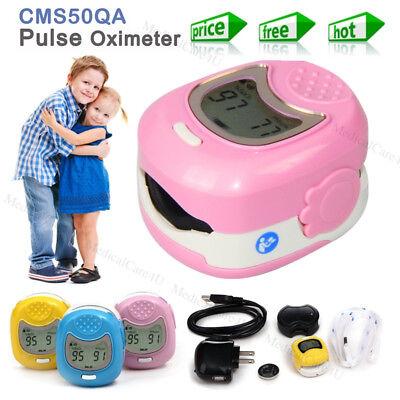 Pediatric Fingertip Pulse Oximeter Infant Spo2 Blood Oxygen Heart Rate Monitor