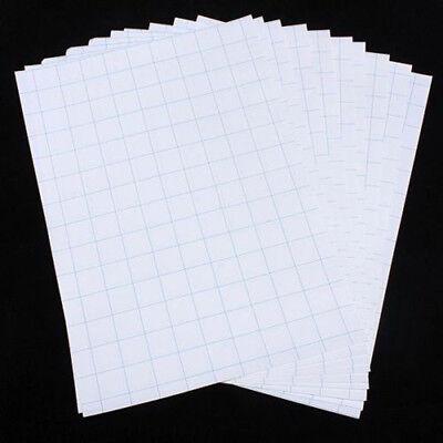 5pcs New T-shirt Print Iron-on Heat Transfer Paper Sheets Darklight Cloth Ass