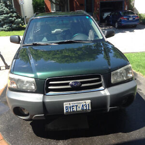 2005 Subaru Forester X SUV, Crossover - low Km - parts