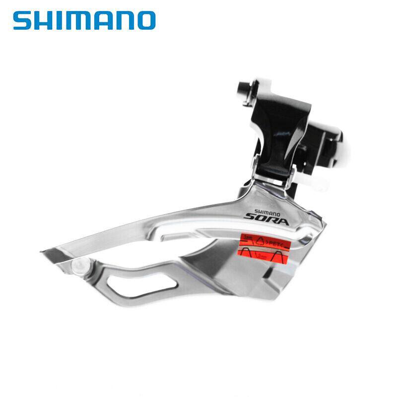 Shimano Sora FD-3503 Road Bike Triple 9 Speed Front Derailleur Clamp-On 31.88MM
