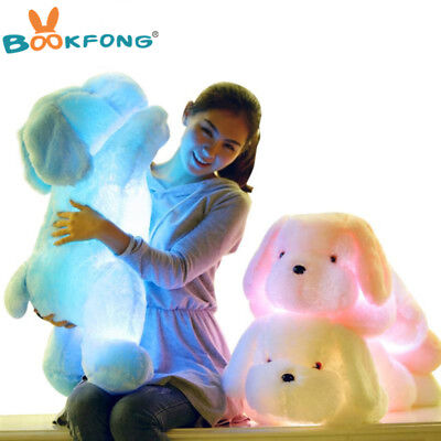Creative Night Light LED Lovely Dog Stuffed and Plush Toys Best Gifts for Kids - Best Games For Game Night