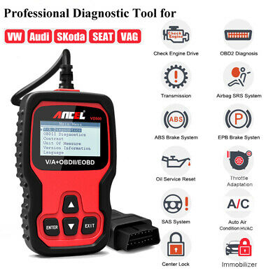Automotive Diagnostic Full System Scanner SRS ABS Oil EPB OBD2 Diagnostic Tool